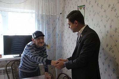 Александр Косачев посетил с рабочей поездкой  Родионово-Несветайский район
