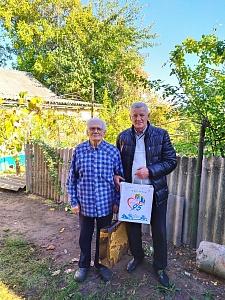 Саркис Гогорян поздравил с днем рождения двоих ветеранов Великой Отечественной войны