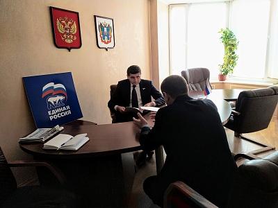 Саркис Гогорян провел прием граждан в донской столице